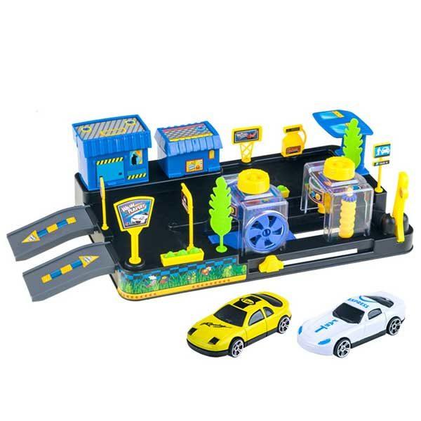 029-autómosó 2 autóval