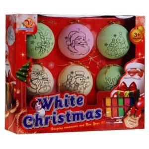102-Festhető karácsonyi gömb