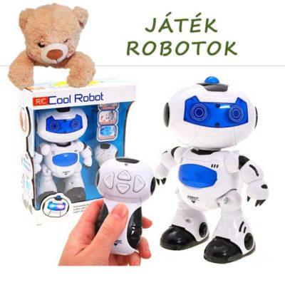 Játékrobotok