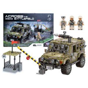 166-Katonai állomás építő játék