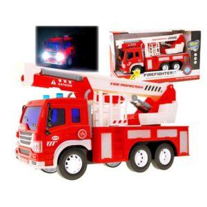 213-Hangot adó tűzoltóautó