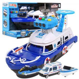 376-Rendőrségi játékhajó