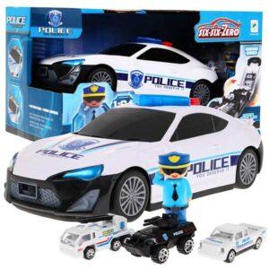 392-Rendőrautó kisautókkal