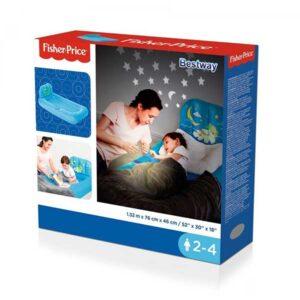 412-Felfújható ágy gyerekeknek projektorral