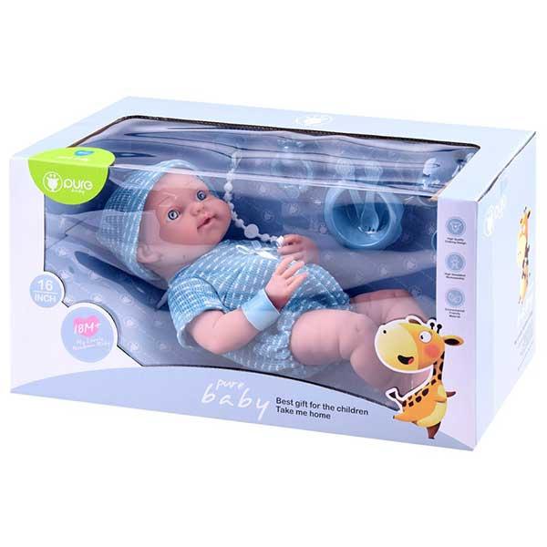 427-Fiú baba kiegészítőkkel 40 cm