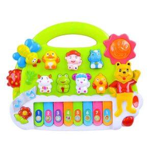 438-Állathangú zongora kicsiknek