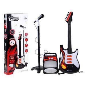 442-Játék gitár erősítővel, mikrofonnal