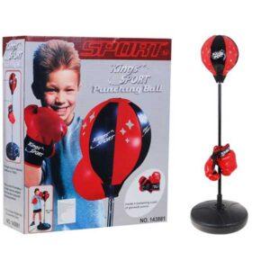 451-Boksz játék gyerekeknek 90-115 cm emelhető állvánnyal