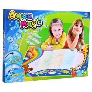461-AQUA mágikus rajzszőnyeg 75x48 cm méret